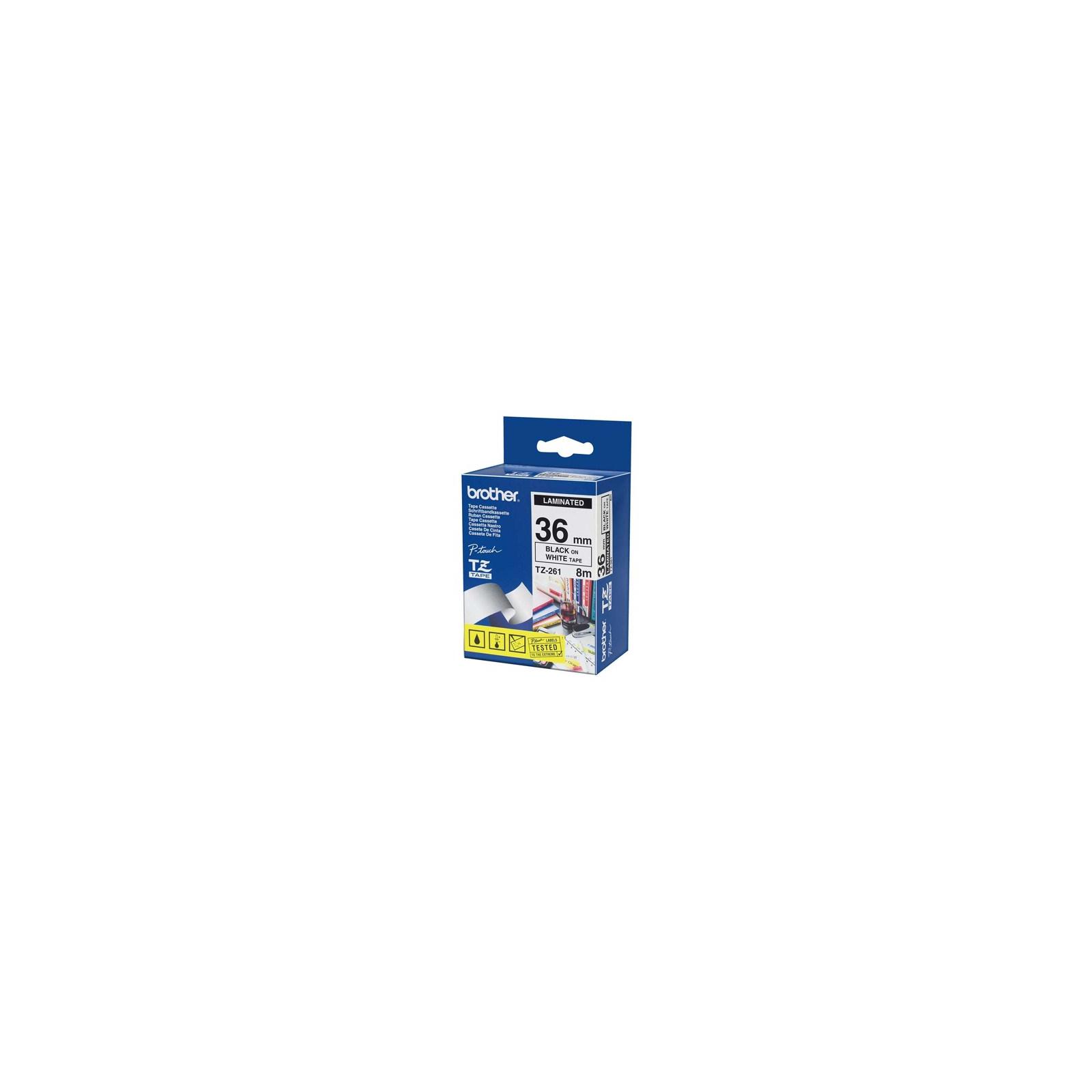 Лента для принтера этикеток Brother TZ261