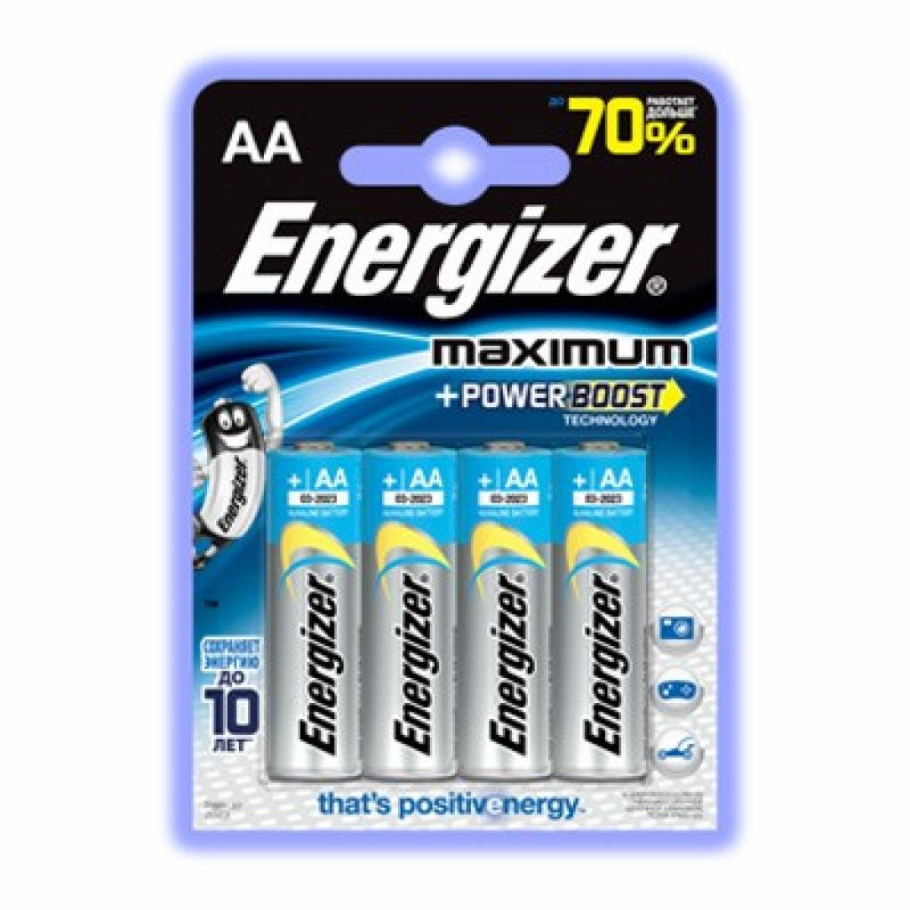 Батарейка Energizer AA Energizer Махімum LR6 (7638900297553)