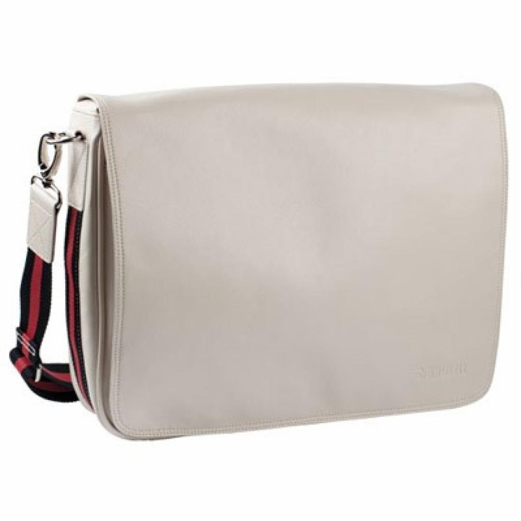 """Сумка для ноутбука Krusell 16"""" Alvik Laptop Bag beige (71276)"""