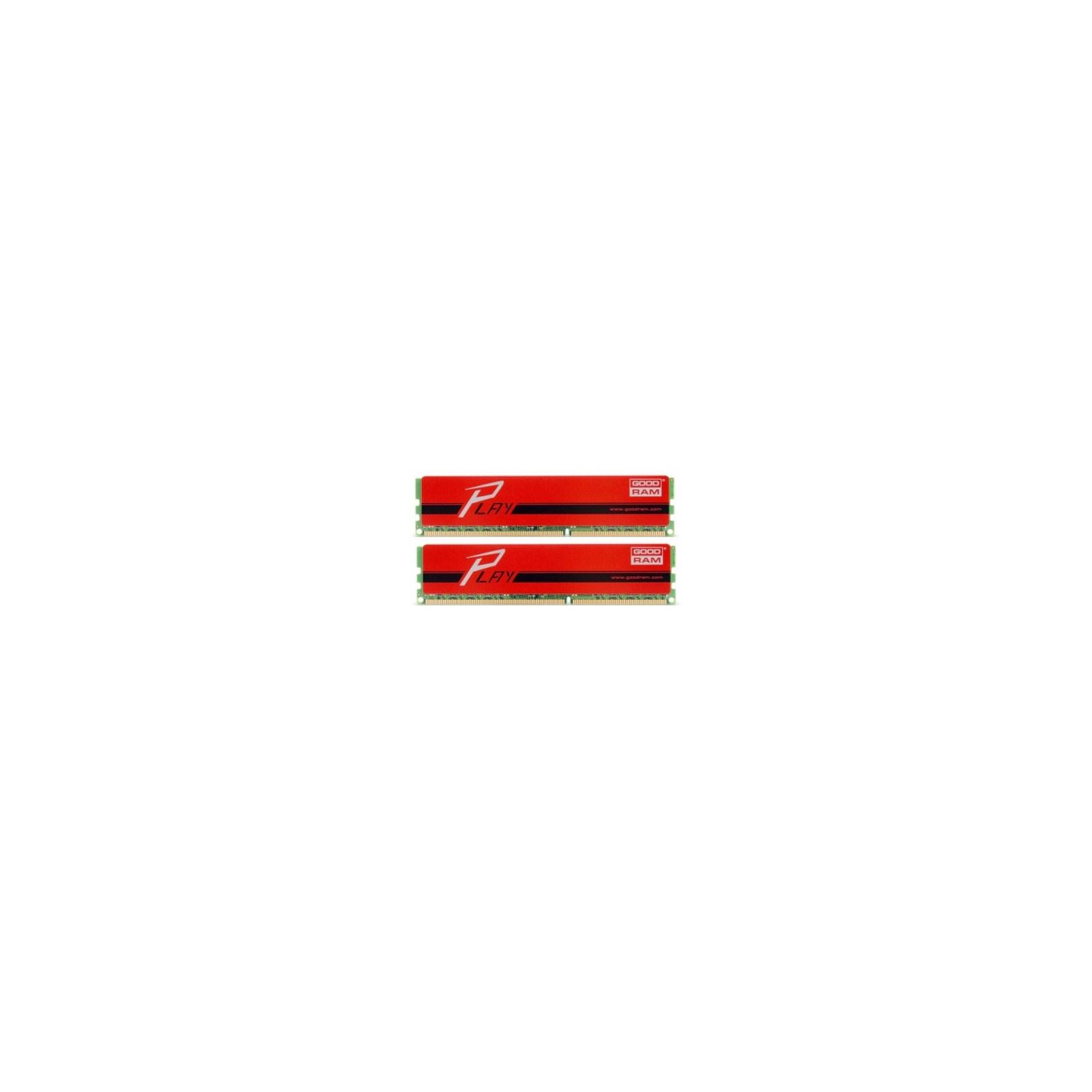 Модуль памяти для компьютера DDR3 8GB (2x4GB) 1600 MHz GOODRAM (GYR1600D364L9/8GDC)