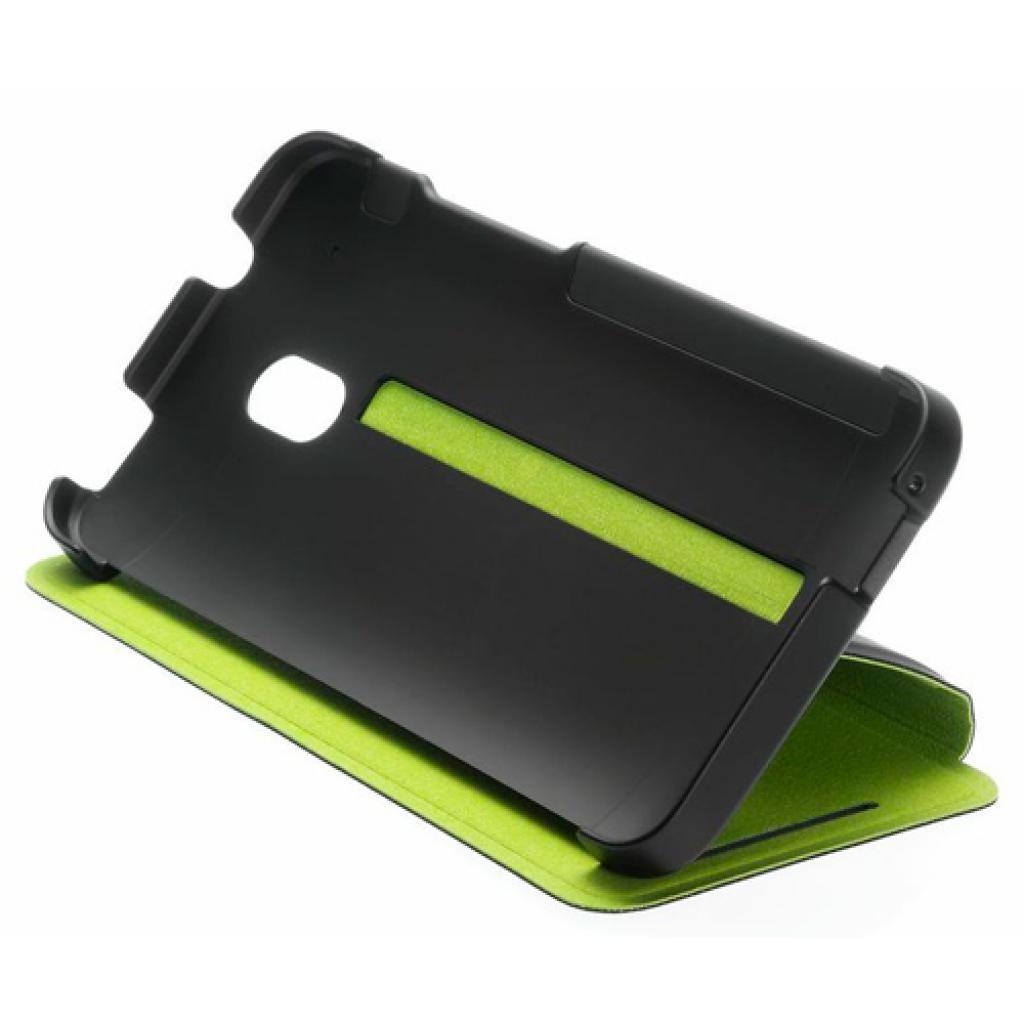 Чехол для моб. телефона HTC One Mini (HC V851 Black-Green) (99H11280-00)