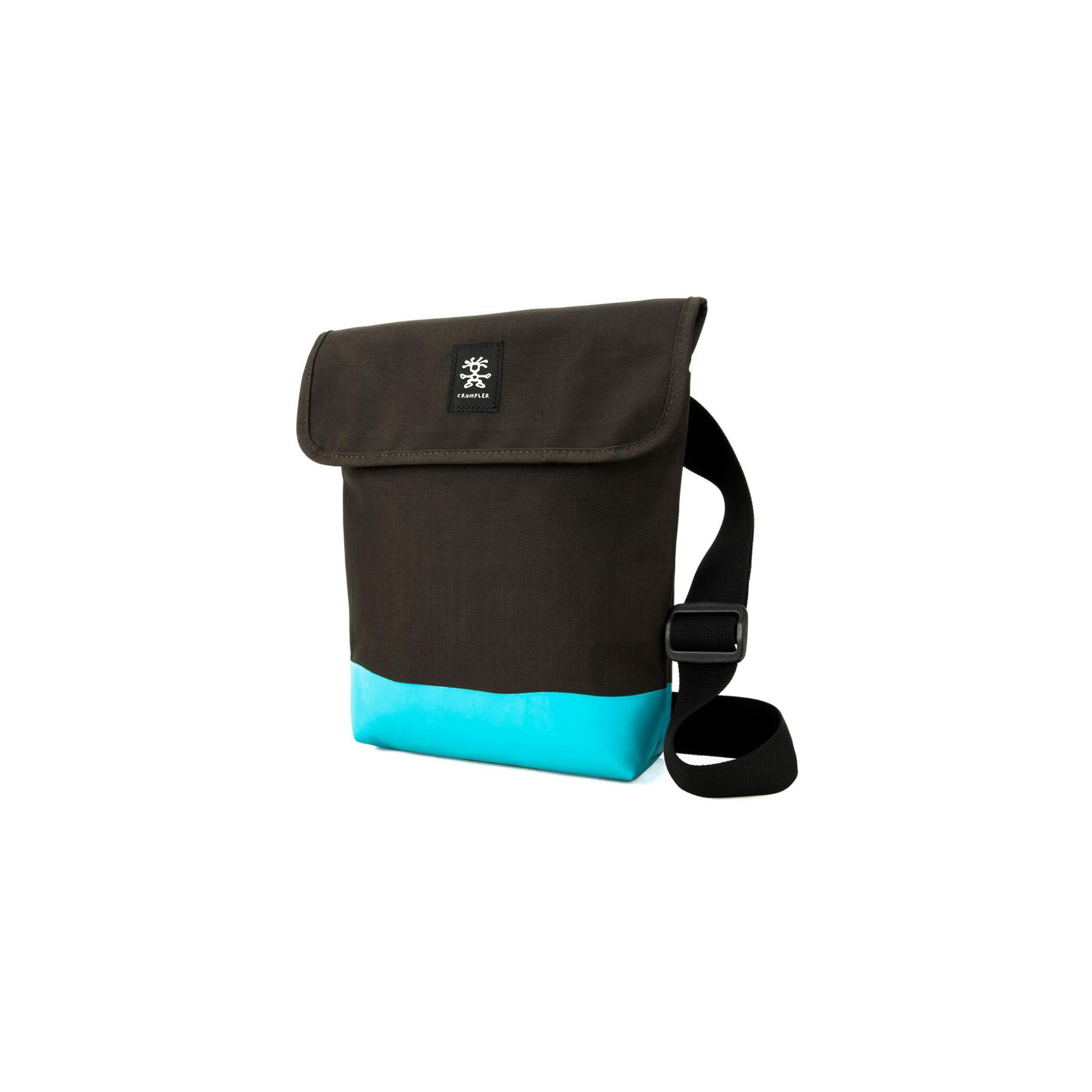 Чехол для планшета Crumpler 9 Private Surprise Sling S /espresso - turquoise (PSS-S-011) изображение 2