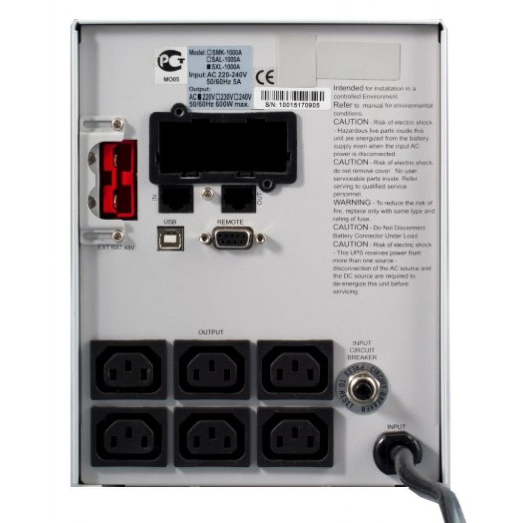 Источник бесперебойного питания Powercom SXL-2000A-LCD (SXL-2K0A-6GC-2440) изображение 2