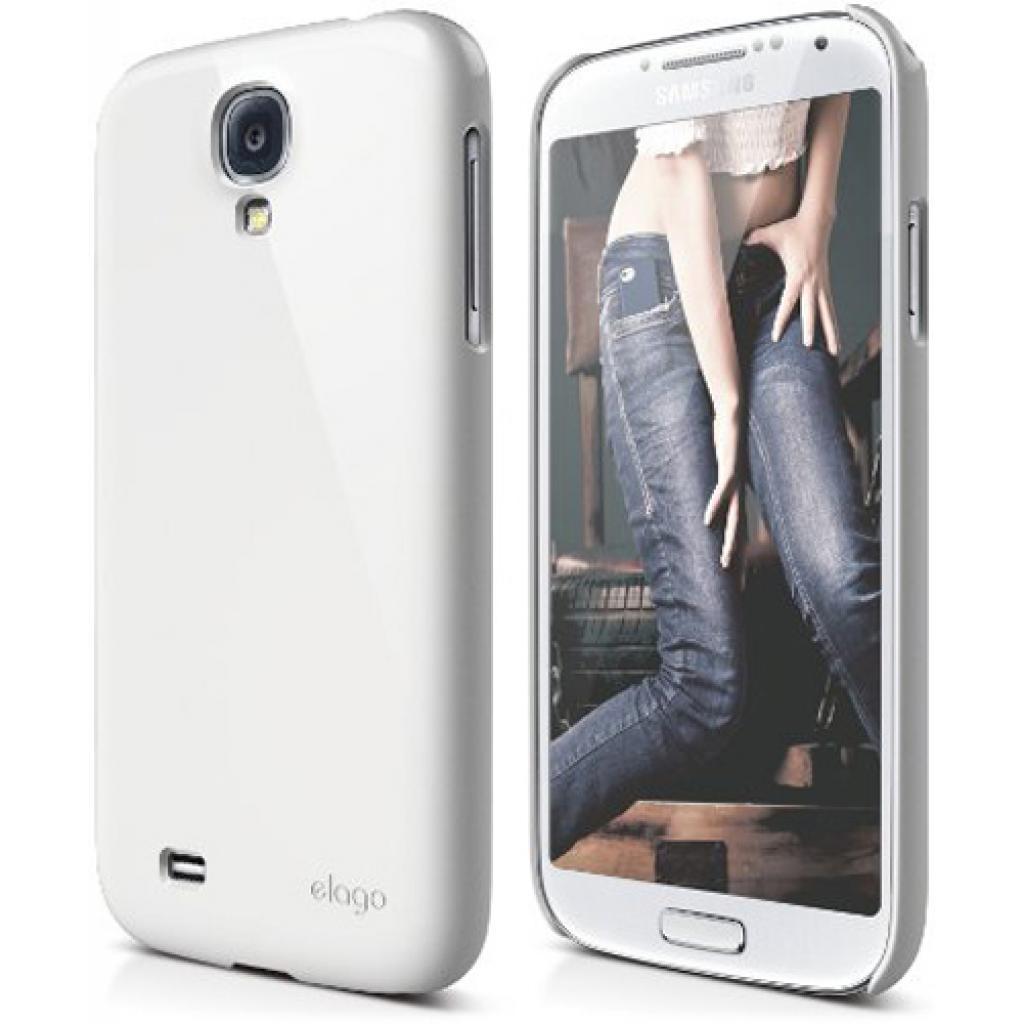 Чехол для моб. телефона ELAGO для Samsung I9500 Galaxy S4 /G7 Slim Fit Glossy/White (ELG7SM-UVWH-RT)