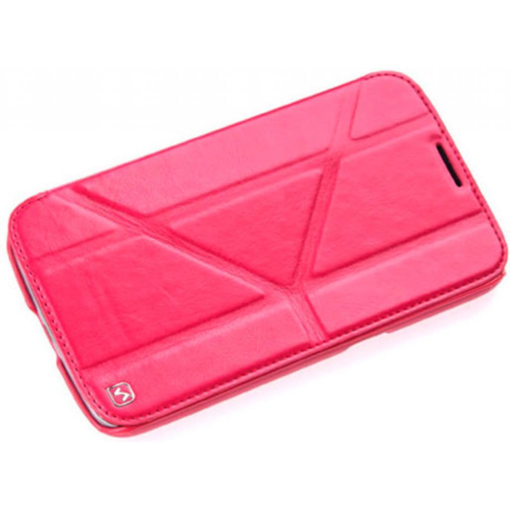 Чехол для моб. телефона HOCO для Samsung I9200 Galaxy Mega 6.3-Crystal s (HS-L036 Rose Red)