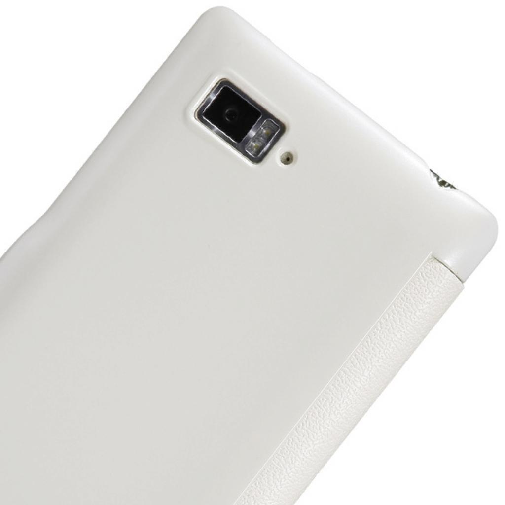 Чехол для моб. телефона NILLKIN для Lenovo K910 /Fresh/ Leather/White (6120376) изображение 5