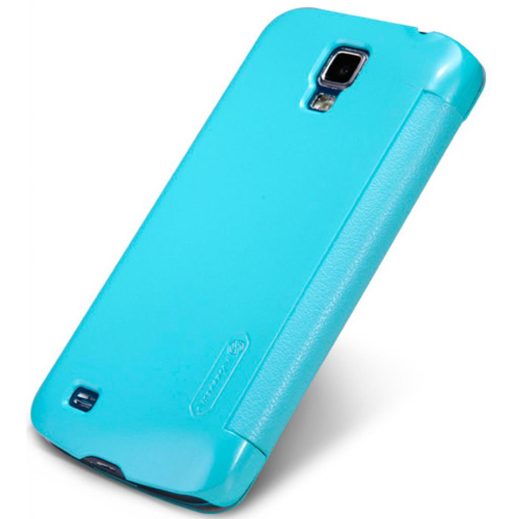 Чехол для моб. телефона NILLKIN для Samsung I9295 /Fresh/ Leather/Blue (6101517) изображение 2