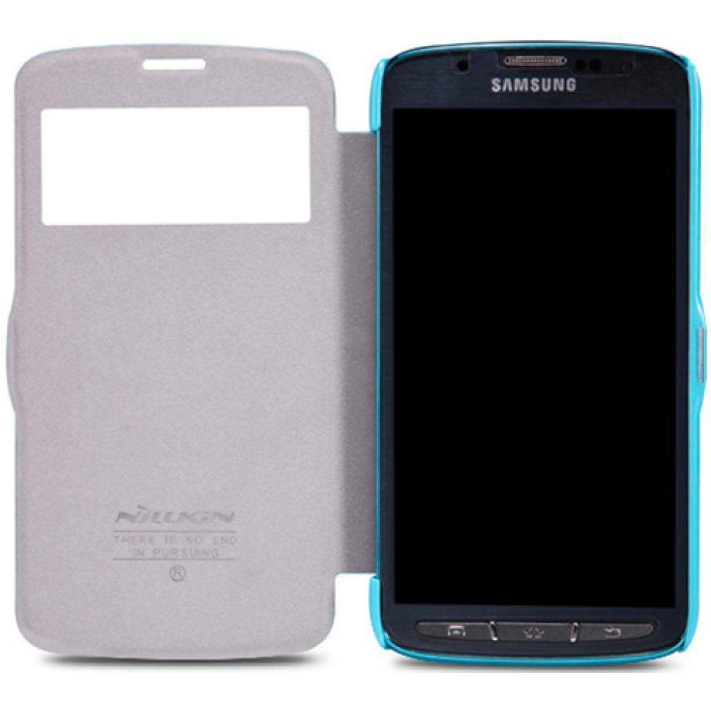 Чехол для моб. телефона NILLKIN для Samsung I9295 /Fresh/ Leather/Blue (6101517) изображение 3