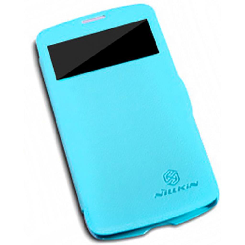 Чехол для моб. телефона NILLKIN для Samsung I9295 /Fresh/ Leather/Blue (6101517)