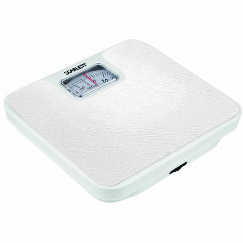Весы напольные SCARLETT SC-214 white