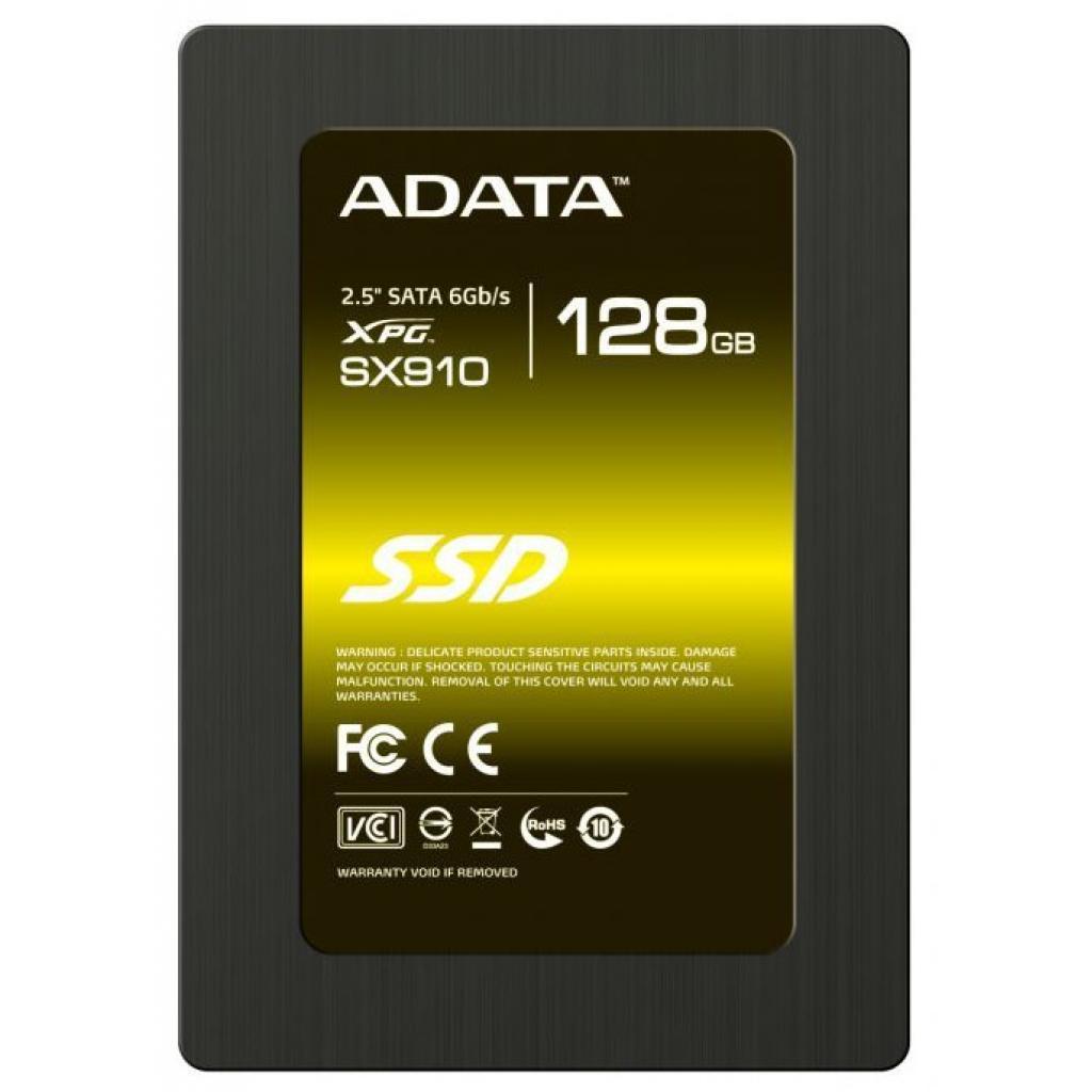 """Накопитель SSD 2.5"""" 128GB ADATA (ASX910S3-128GM-C)"""