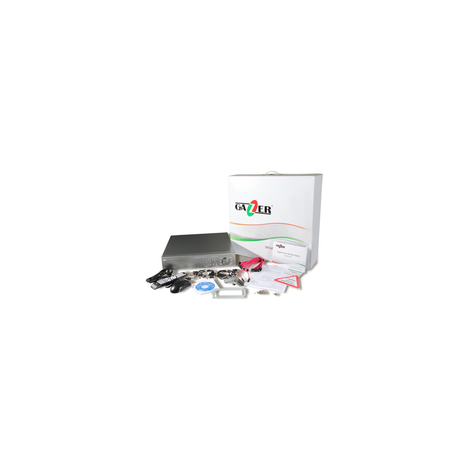 Регистратор для видеонаблюдения Gazer NF316r изображение 14