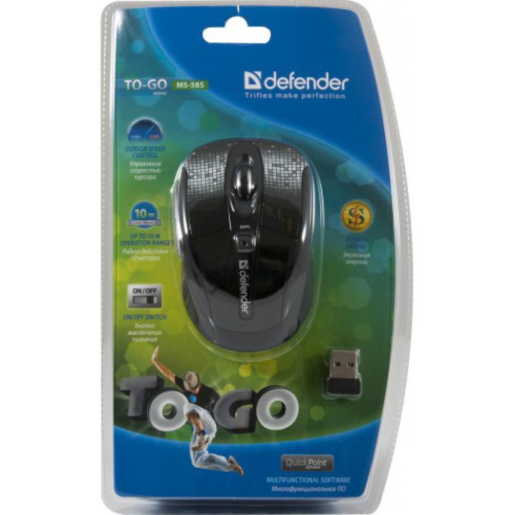 Мышка Defender To-GO MS-585 Nano (52585) изображение 8