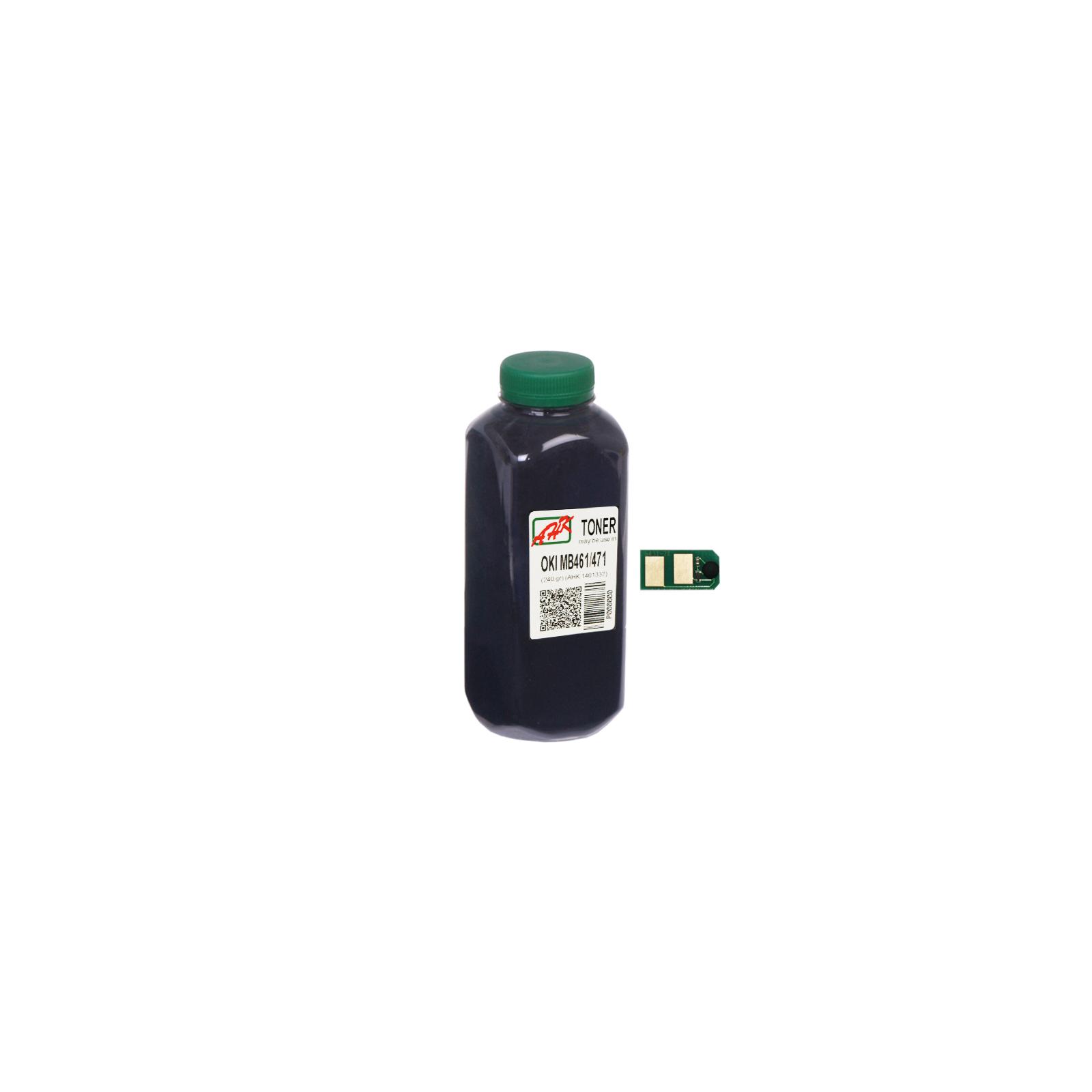 Тонер OKI MB461/MB471/491 (+чіп) AHK (140133/1401337)