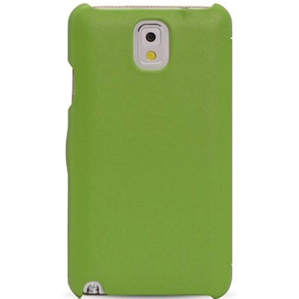 Чехол для моб. телефона i-Carer Side Open colorblock series до Samsung Galaxy Note 3 Green+ (RS900002GW) изображение 2
