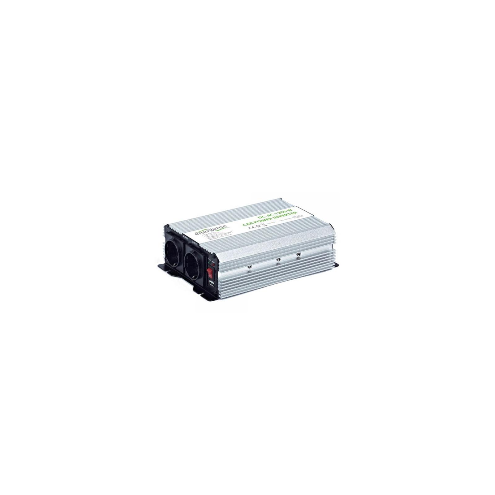 Автомобильный инвертор 12V/220V 1200 Вт EnerGenie (EG-PWC-035) изображение 2