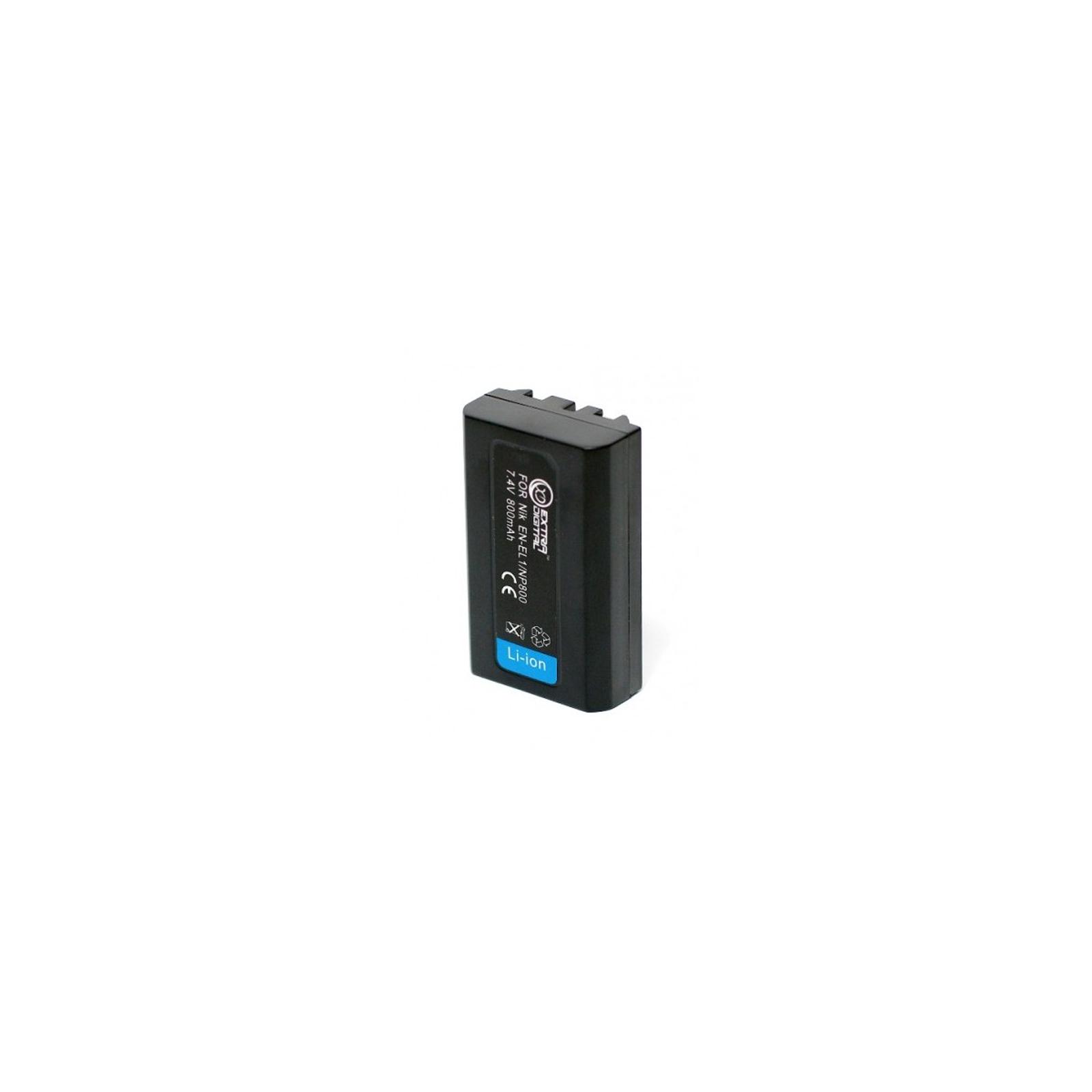 Аккумулятор к фото/видео EXTRADIGITAL Minolta NP-800 (DV00DV1069) изображение 2