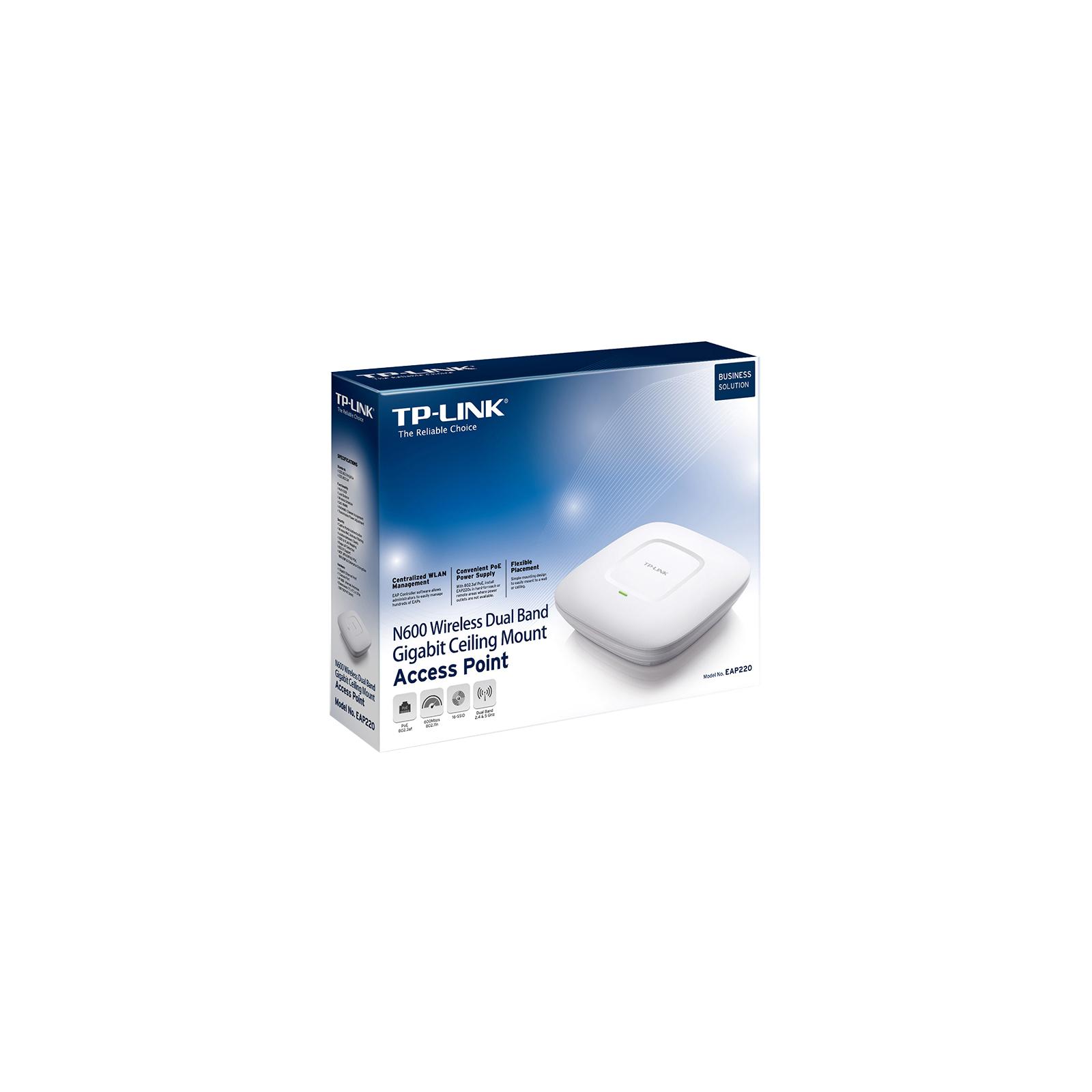 Точка доступа Wi-Fi TP-Link EAP220 изображение 5