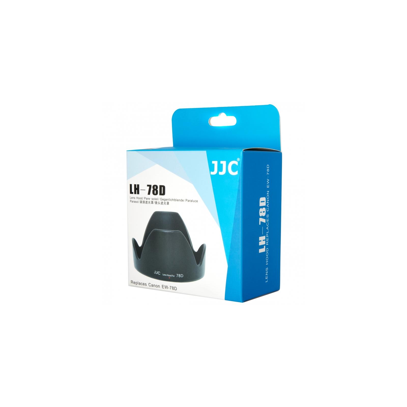 Бленда к объективу JJC LH-78D (Canon 18-200mm, 28-200mm) (J-LH-78D) изображение 4
