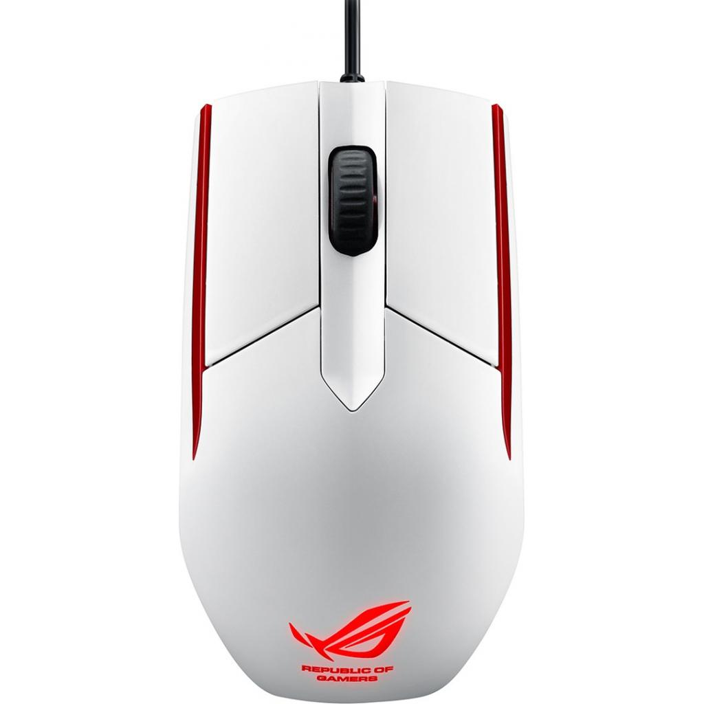 Мышка ASUS ROG Sica Gaming Mouse White (90MP00B2-B0UA00) изображение 2