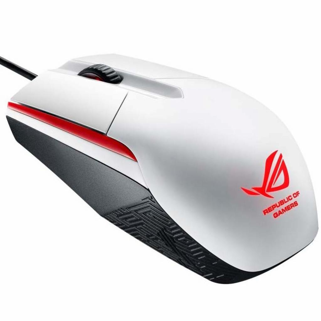 Мышка ASUS ROG Sica Gaming Mouse White (90MP00B2-B0UA00) изображение 3