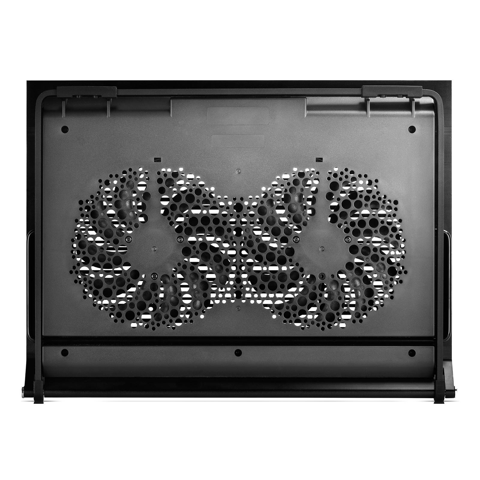 """Подставка для ноутбука Deepcool 17"""", металл, 360X272х45мм (N9EX) изображение 7"""