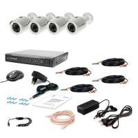 Комплект видеонаблюдения Tecsar 4OUT-2M-AUDIO (9633)