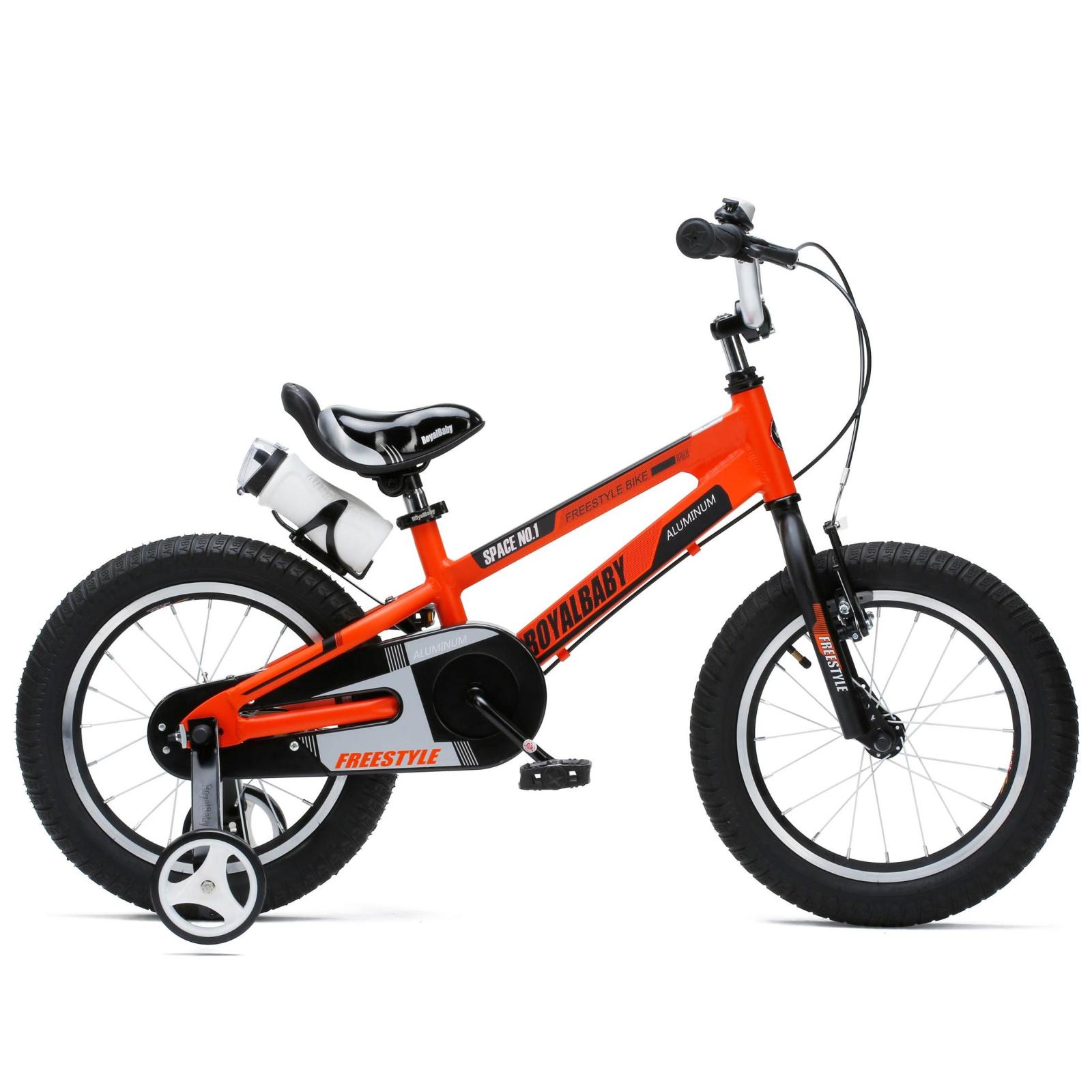 """Детский велосипед Royal Baby SPACE NO.1 Alu 14"""", оранжевый (RB14-17-ORG)"""