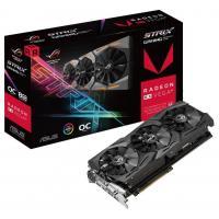 Видеокарта ASUS Radeon RX Vega 64 8192Mb ROG STRIX OC GAMING (ROG-STRIX-RXVEGA64-O8G-GAMING)