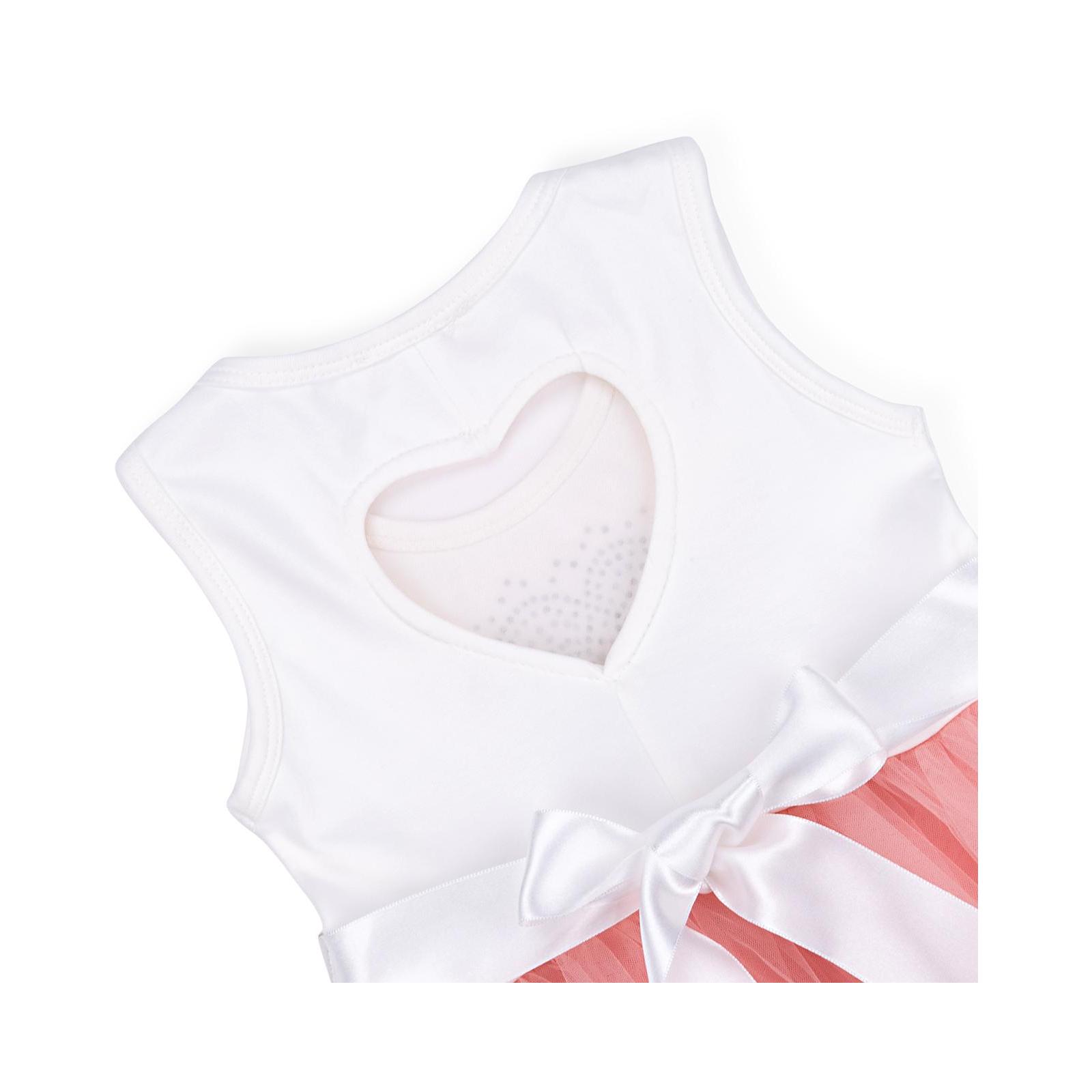 Платье Breeze сарафан с фатиновой юбкой и сердцем (10862-128G-peach) изображение 4
