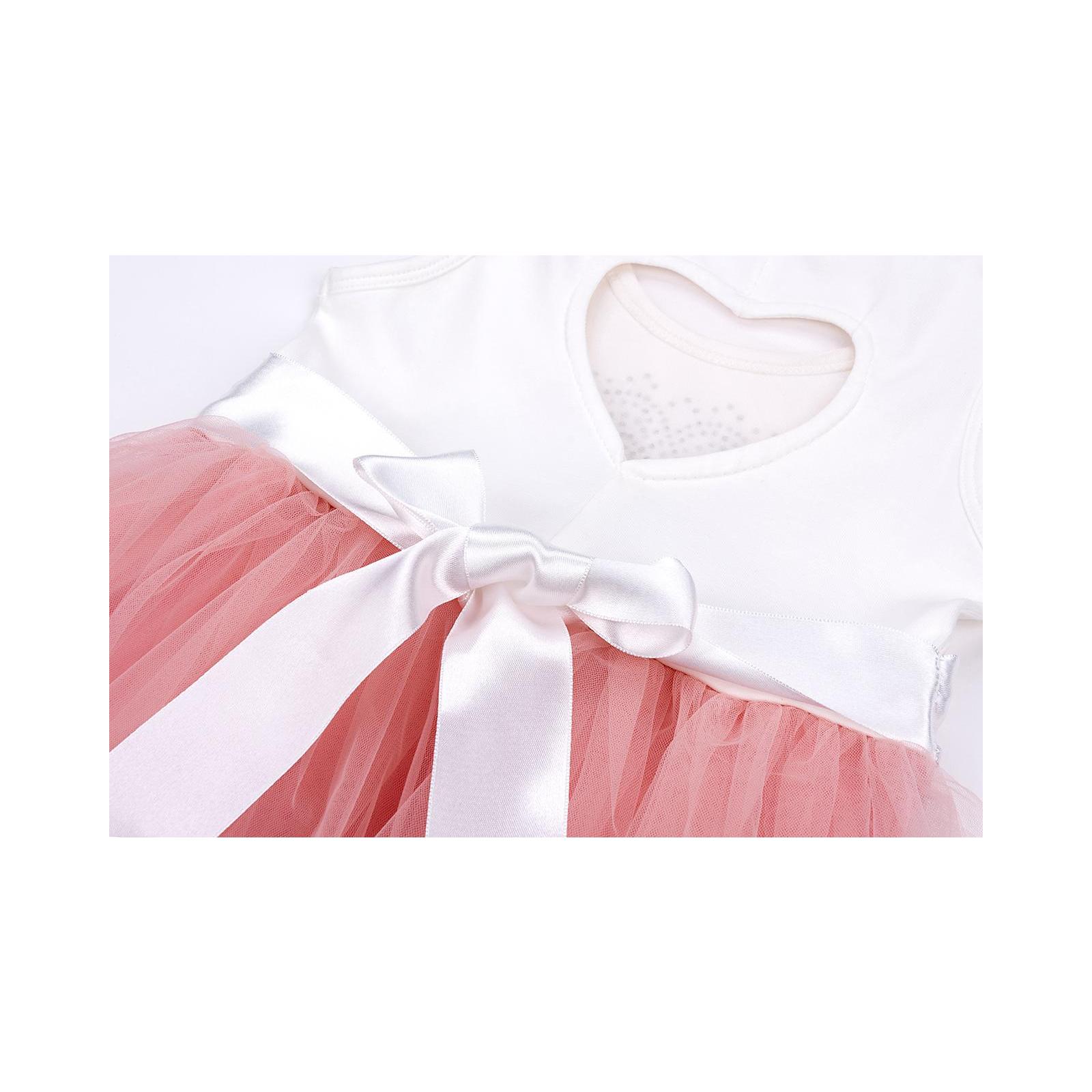 Платье Breeze сарафан с фатиновой юбкой и сердцем (10862-128G-peach) изображение 6