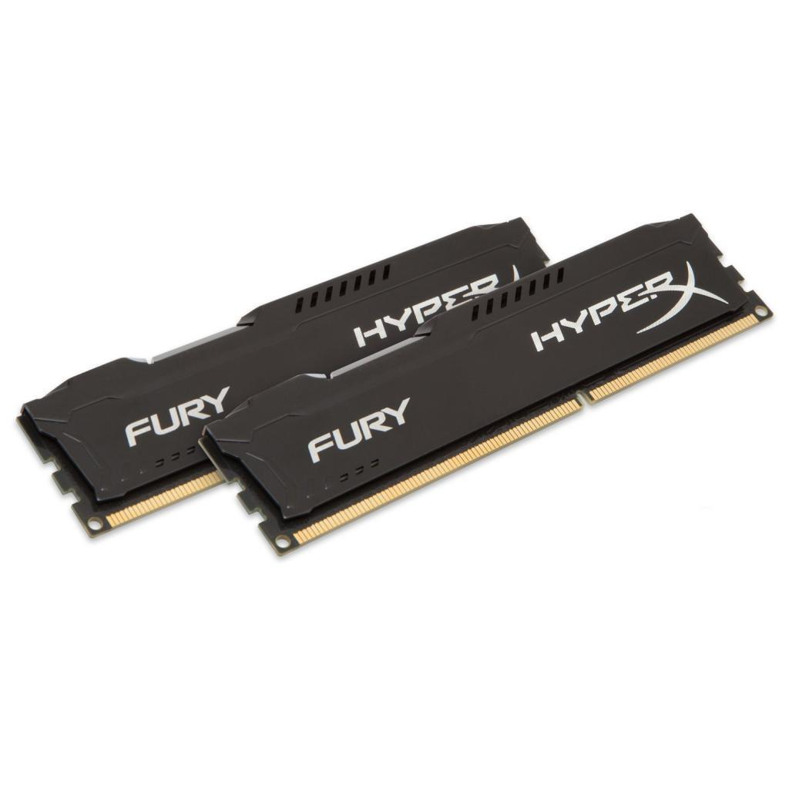 Модуль памяти для компьютера DDR4 32GB (2x16GB) 3200 MHz HyperX FURY Black HyperX (Kingston Fury) (HX432C18FBK2/32) изображение 2