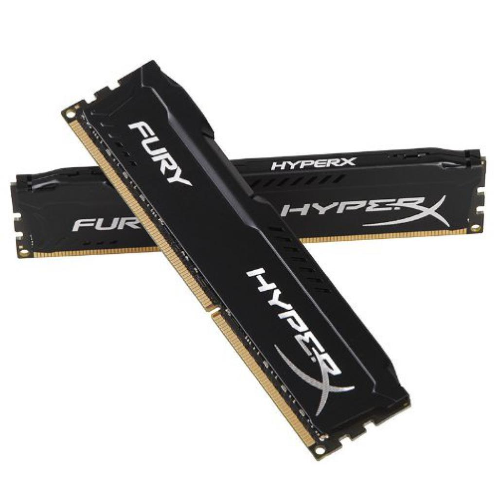 Модуль памяти для компьютера DDR4 32GB (2x16GB) 3200 MHz HyperX FURY Black HyperX (Kingston Fury) (HX432C18FBK2/32) изображение 3