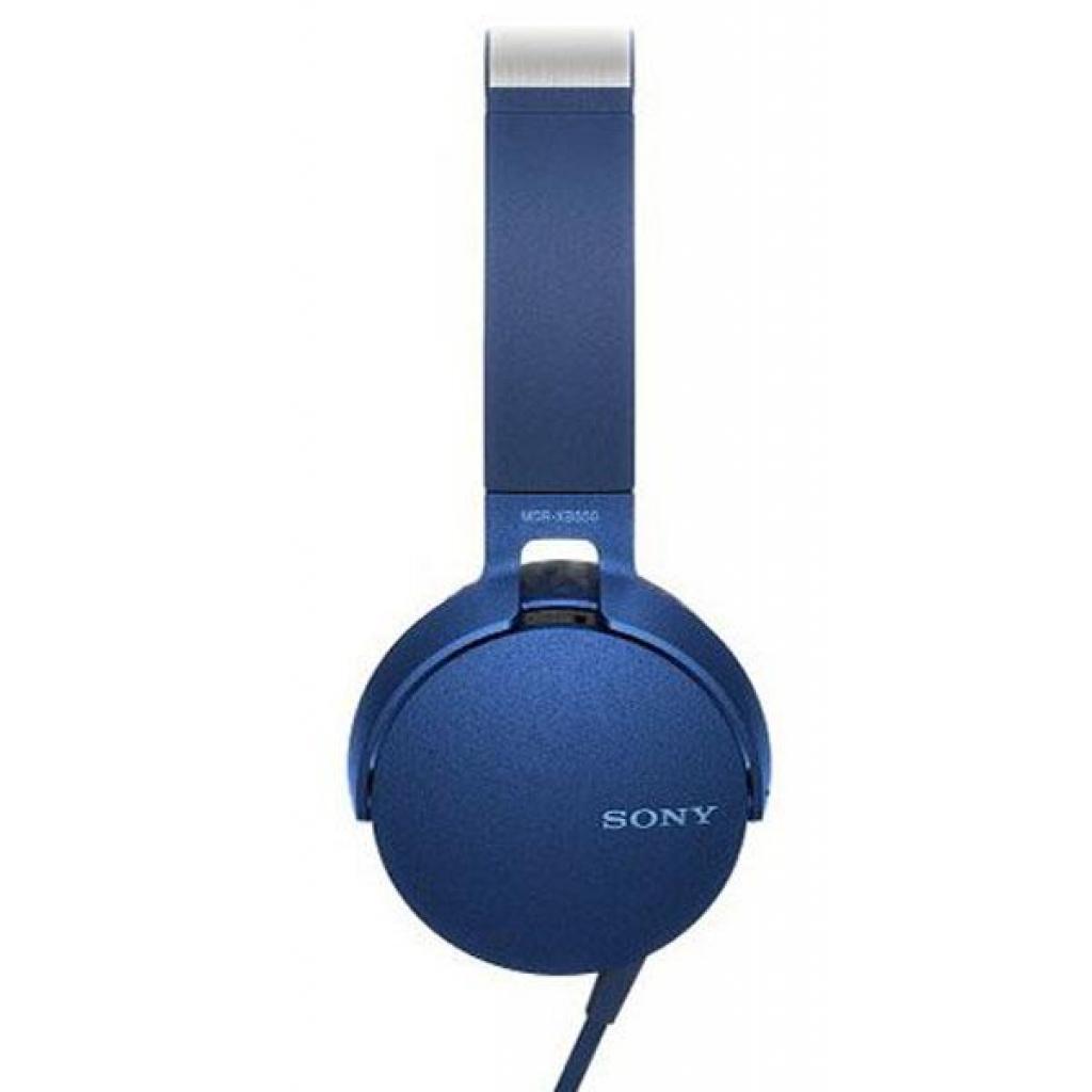 Наушники SONY MDR-XB550AP Blue (MDRXB550APL.E) изображение 2