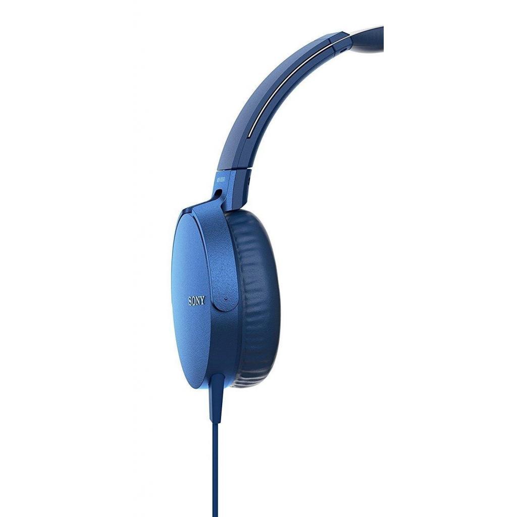 Наушники SONY MDR-XB550AP Blue (MDRXB550APL.E) изображение 3