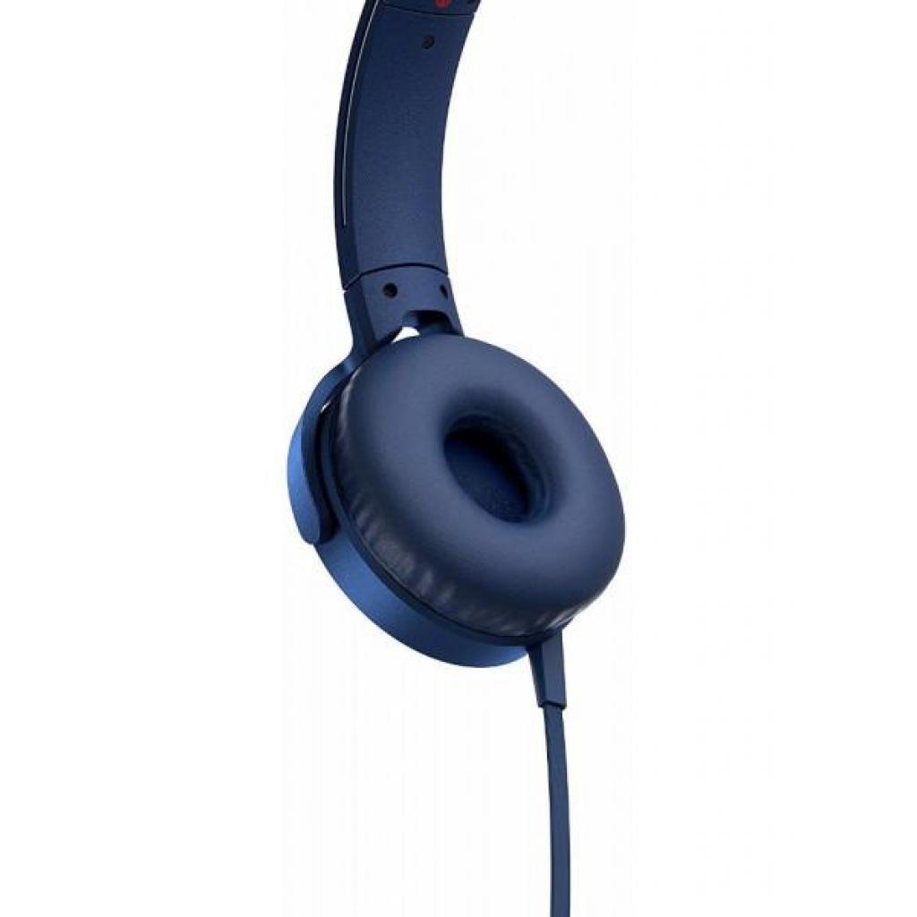 Наушники SONY MDR-XB550AP Blue (MDRXB550APL.E) изображение 4