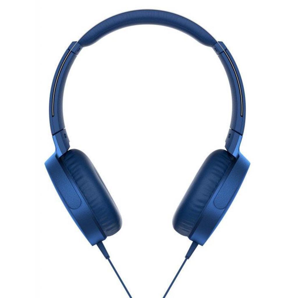 Наушники SONY MDR-XB550AP Blue (MDRXB550APL.E) изображение 7