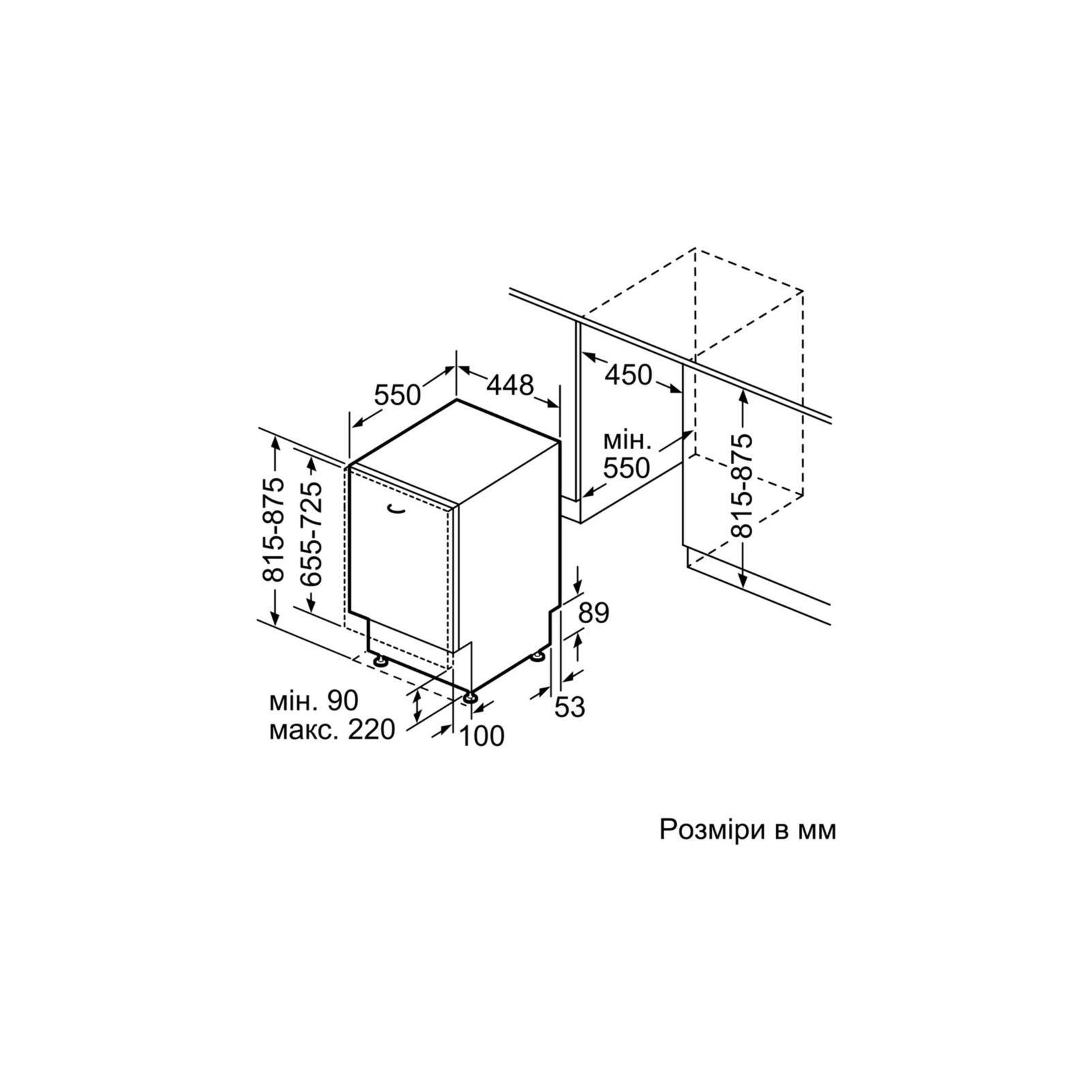 Посудомоечная машина BOSCH SPV45IX00E изображение 6