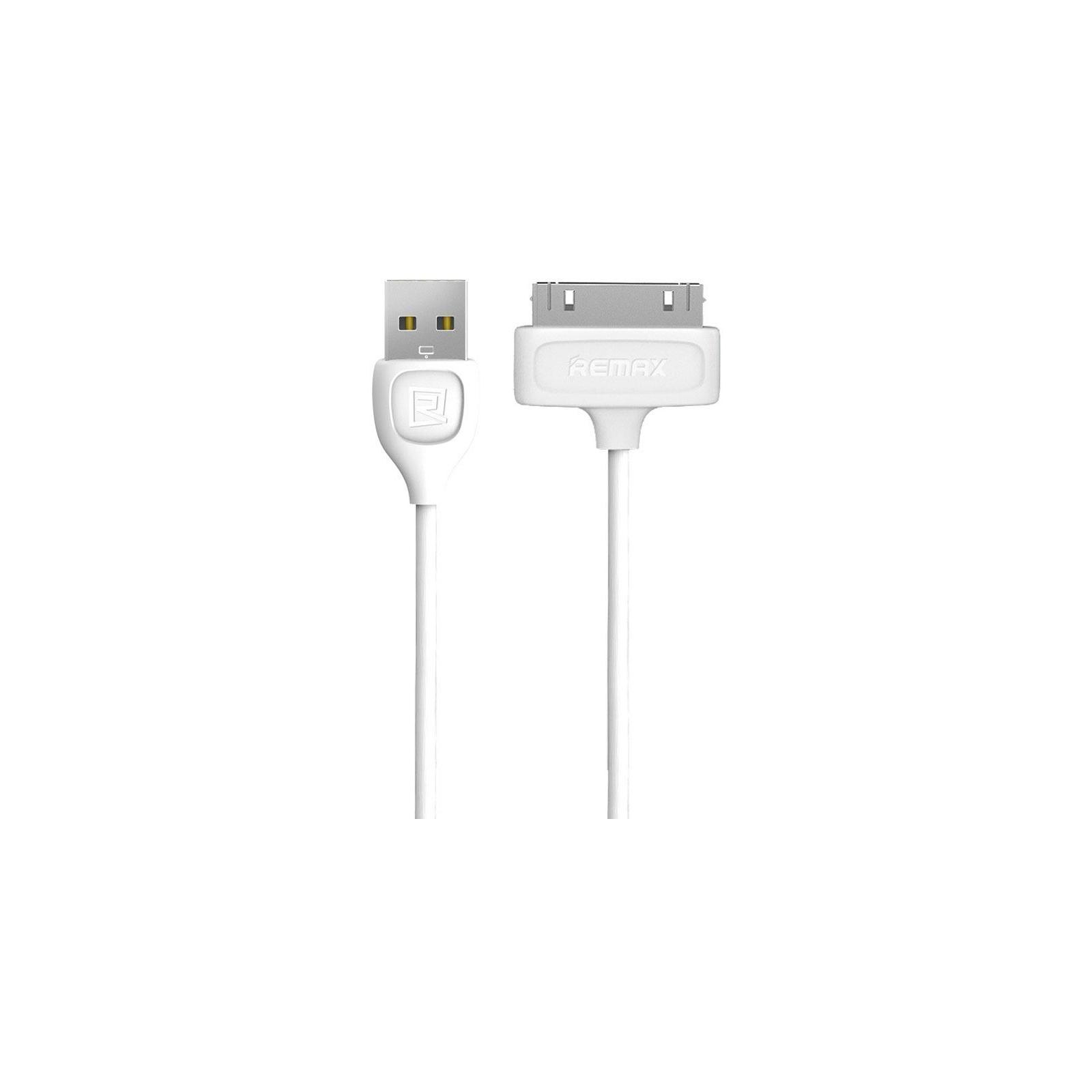 Дата кабель USB 2.0 AM to Apple 30pin 0.5m Lesu RC-050 White Remax (F_48634)