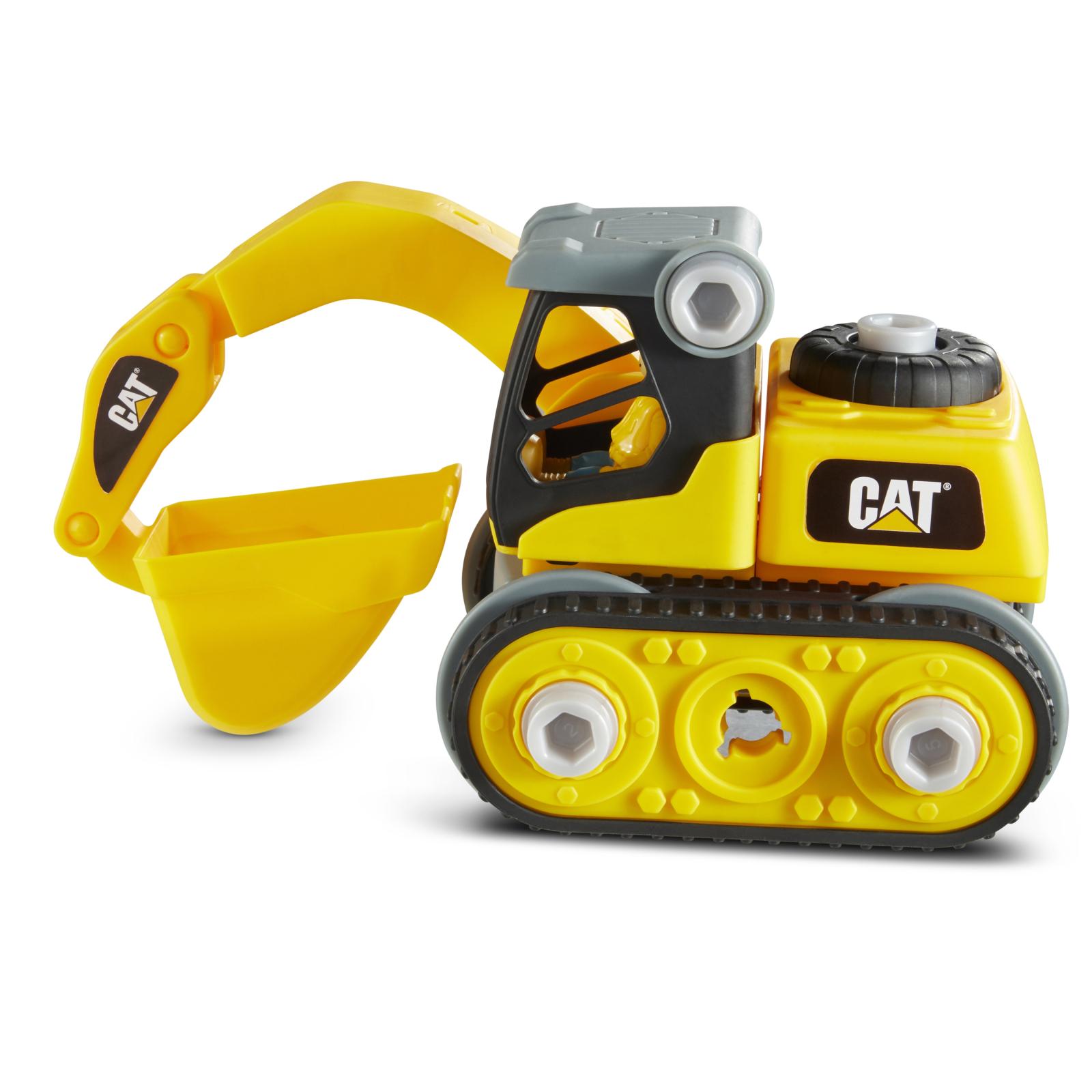 Конструктор Funrise CAT Machine Maker Экскаватор 20 см (80903F) изображение 2