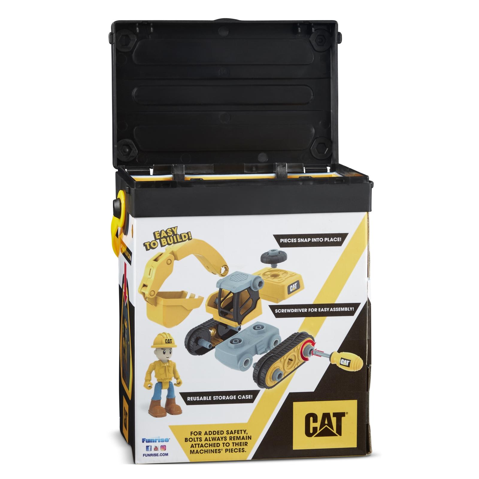 Конструктор Funrise CAT Machine Maker Экскаватор 20 см (80903F) изображение 6