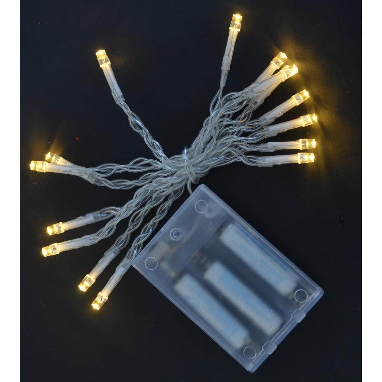 Гирлянда YES! Fun 15 LED лампочек, молочно-белая, 1,6 м (801126)