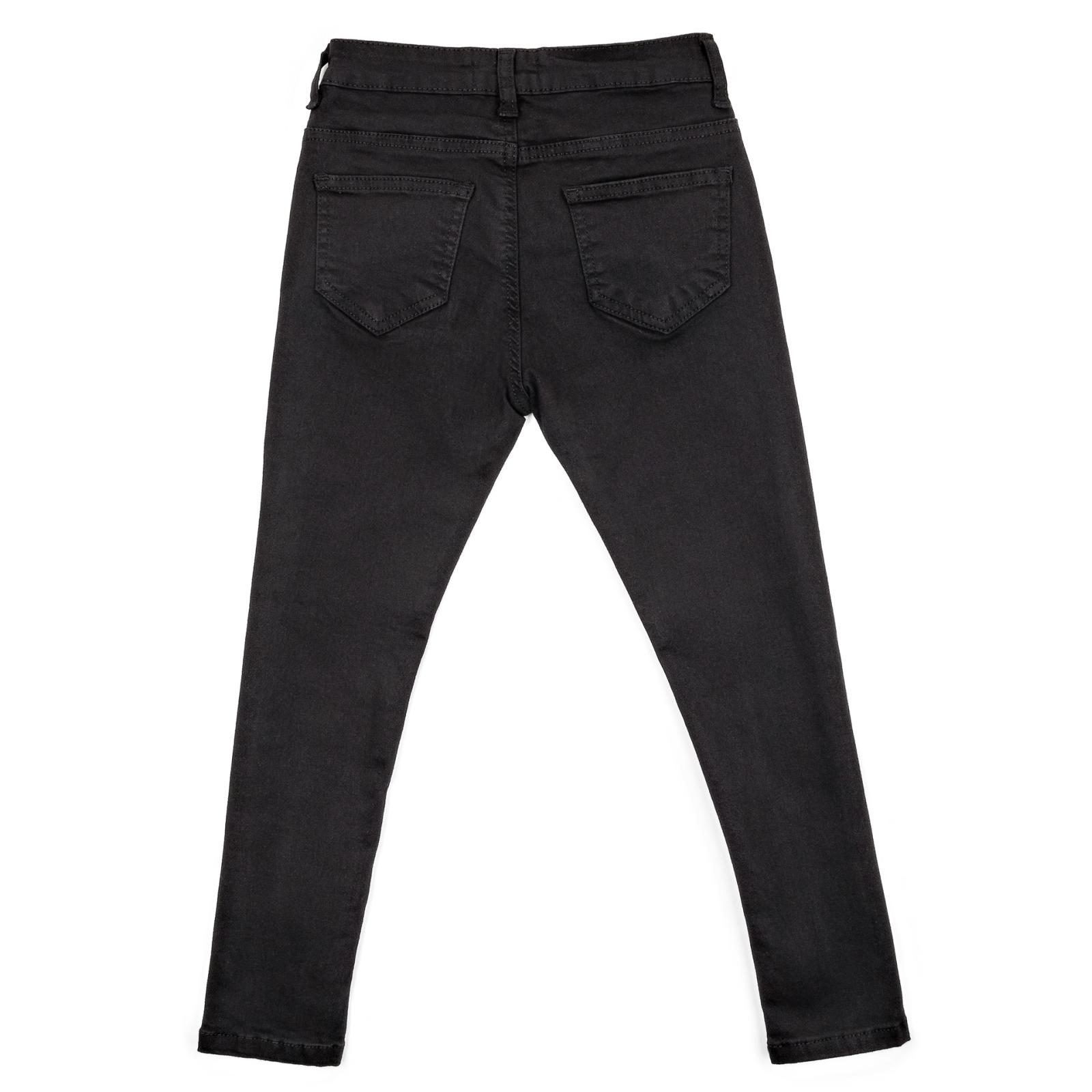 Штаны детские Breeze джинсовые зауженные (13212-146G-black) изображение 2