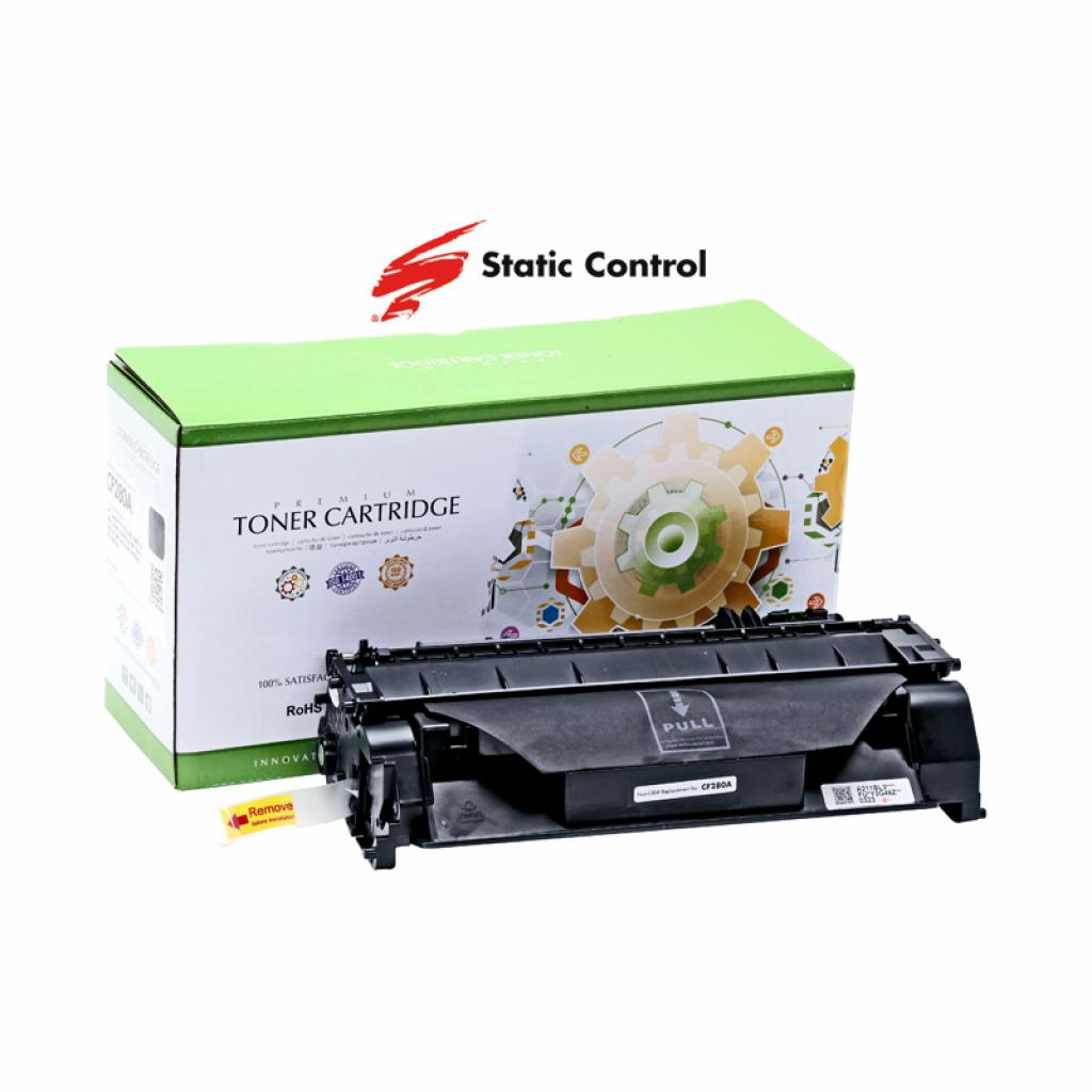 Картридж Static Control HP LJ CF280A2.7k (002-01-SF280A/002-01-VF280A)