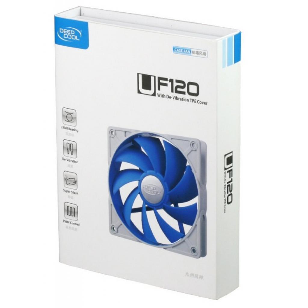 Кулер для корпуса Ultra Silent Deepcool (UF 120) изображение 4