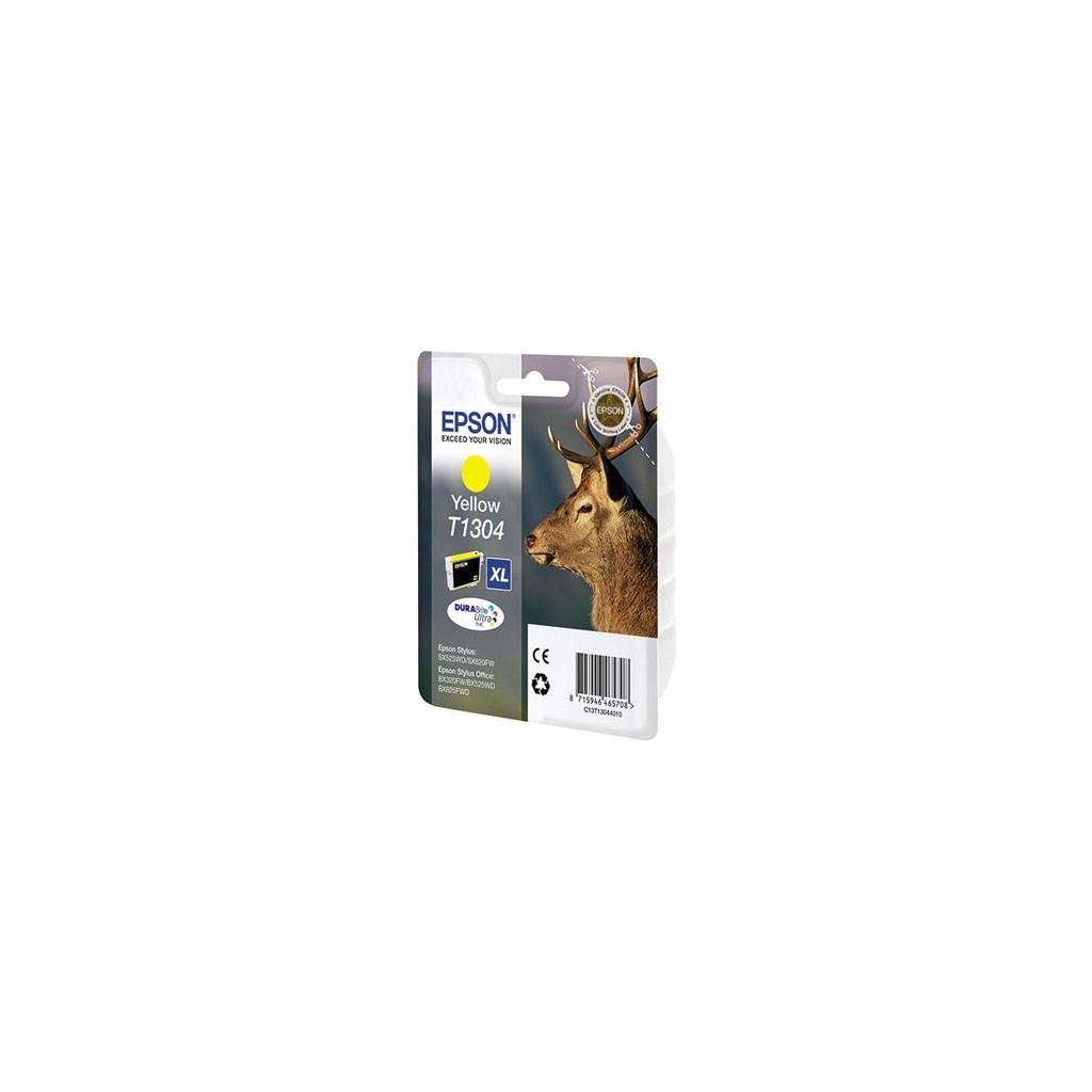 Картридж EPSON SX525WD/B42WD/BX320FW yellow XL (C13T13044010)