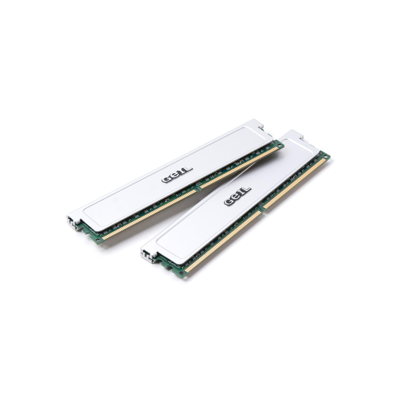 Модуль памяти для компьютера DDR2 4GB (2х2GB) 800 MHz GEIL (GX24GB6400DC)