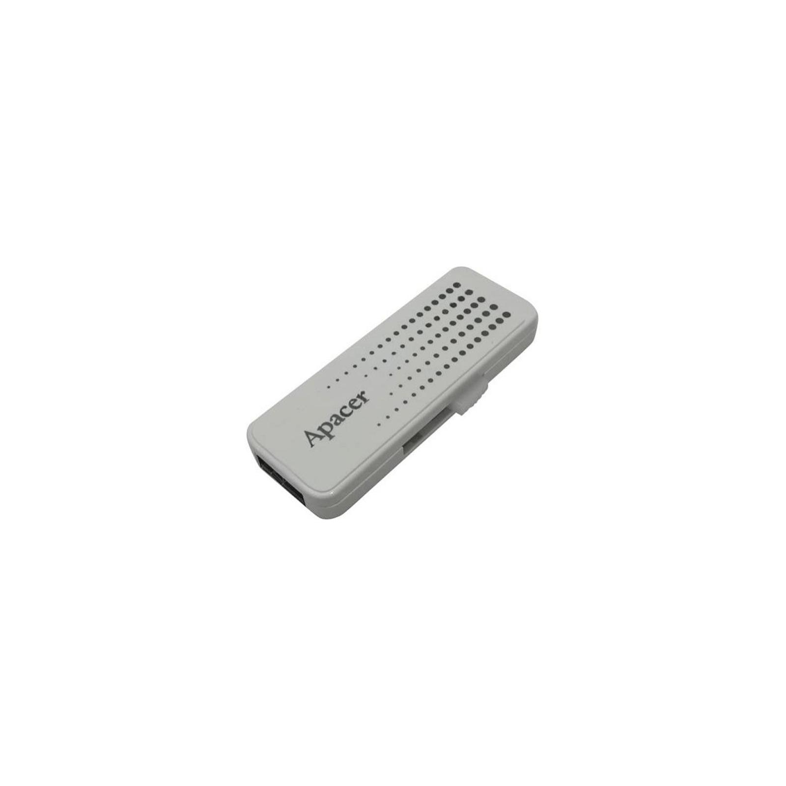 USB флеш накопитель Handy Steno AH323 white Apacer (AP8GAH323W-1) изображение 2