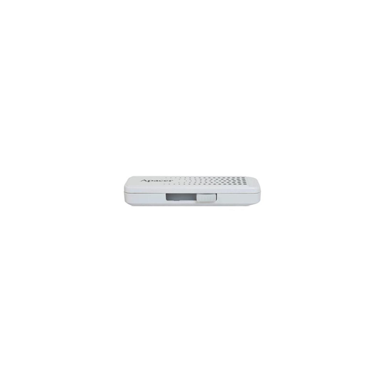USB флеш накопитель Handy Steno AH323 white Apacer (AP8GAH323W-1) изображение 3