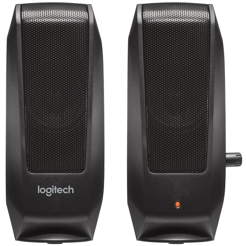 Акустична система Logitech S-120 Black (980-000010) зображення 2